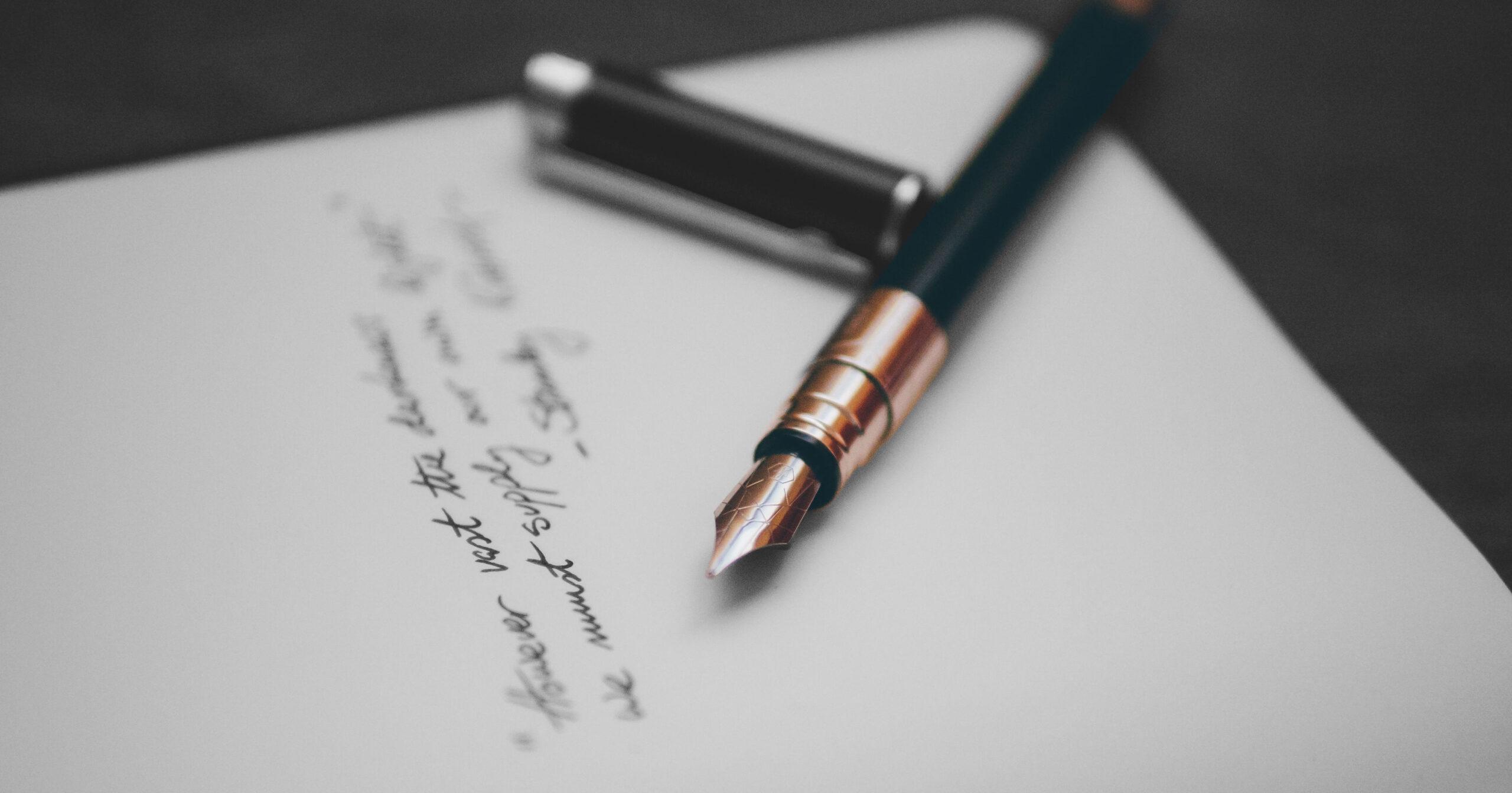 Appunti sulla scrittura II – Esiste una formula?